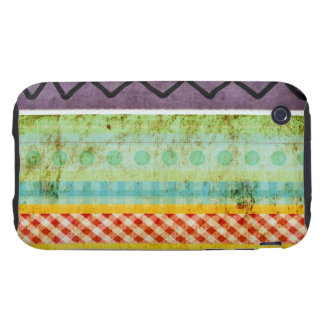 Gingham Zigzag Check Colorful DIY Case