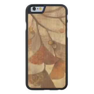 Gingko Carved Maple iPhone 6 Case