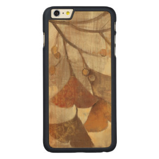 Gingko Carved Maple iPhone 6 Plus Case