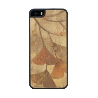 Gingko Funda De Arce Carved® Para iPhone 5