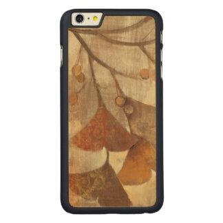 Gingko Funda De Arce Carved® Para iPhone 6 Plus