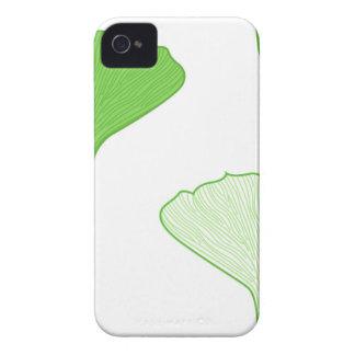 GINGKO GREEN LEAVES T-Shirt Creative iPhone 4 Case-Mate Case