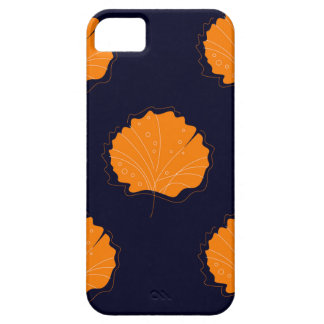 Gingko hand drawn Gold illustrated Edition iPhone SE/5/5s Case