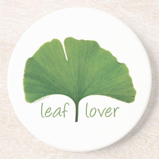 Gingko Leaf Drink Coaster