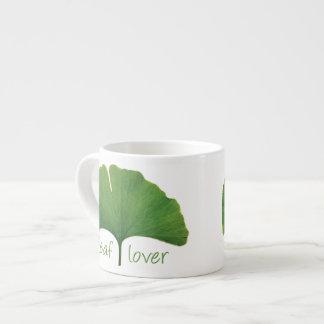 Gingko Leaf Espresso Cup