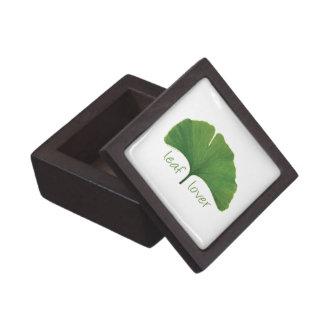Gingko Leaf Keepsake Box