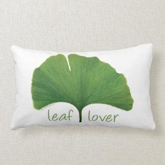 Gingko Leaf Lumbar Pillow
