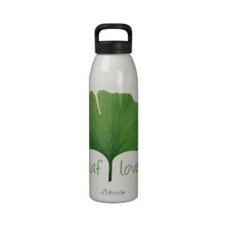 Gingko Leaf Drinking Bottles