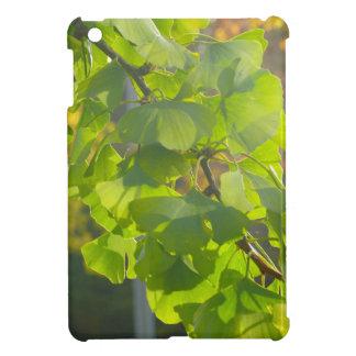 Gingko leaves in autumn sun iPad mini case