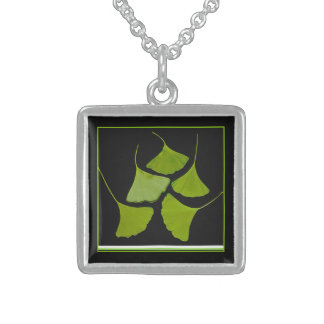 Gingko leaves necklace