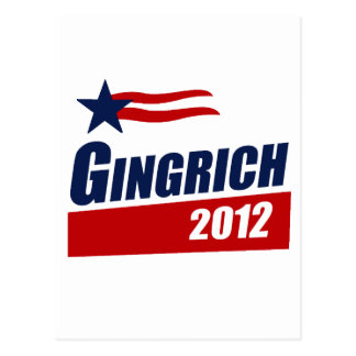 GINGRICH 2012 Banner Post Cards