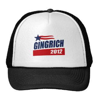 GINGRICH 2012 CAMPAIGN BANNER TRUCKER HAT