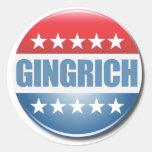 Gingrich 2012 classic round sticker
