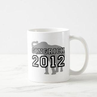 Gingrich 2012 coffee mug