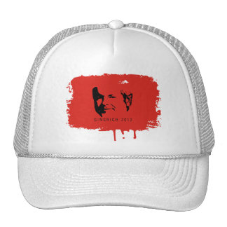 GINGRICH 2012 FACE MESH HAT