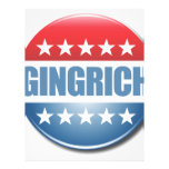 Gingrich 2012 flyer
