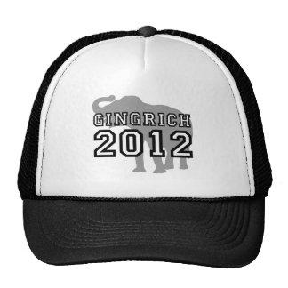 Gingrich 2012 mesh hat