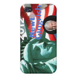 Gingrich 2012 iPhone 4 cover