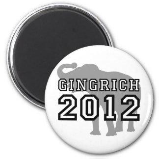 Gingrich 2012 refrigerator magnet