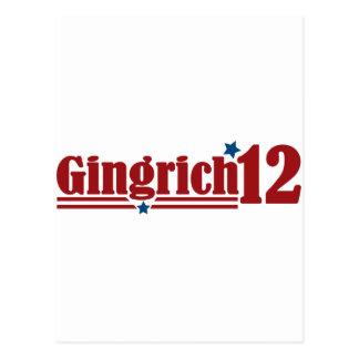 Gingrich 2012 postal