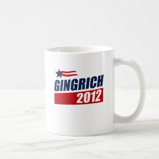 Gingrich 2012 taza de café