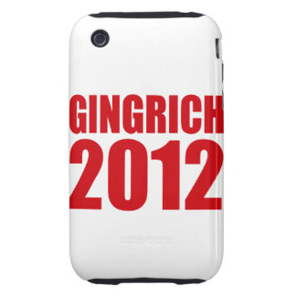 GINGRICH 2012 TOUGH iPhone 3 COVER