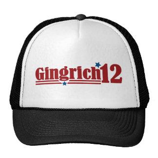Gingrich 2012 trucker hat