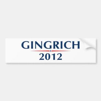 GINGRICH 2012 (v102) Car Bumper Sticker