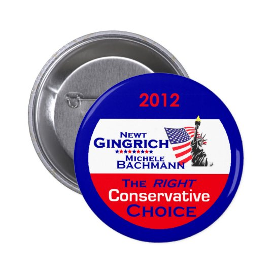 Gingrich Bachmann Button