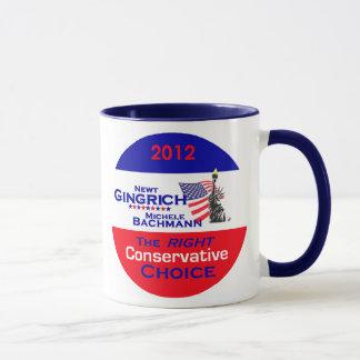 Gingrich Bachmann Mug
