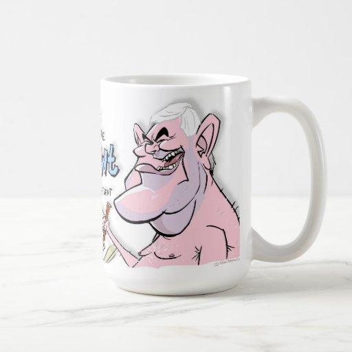 Gingrich-Caricatura-Elección-Coffeemug del Newt Taza