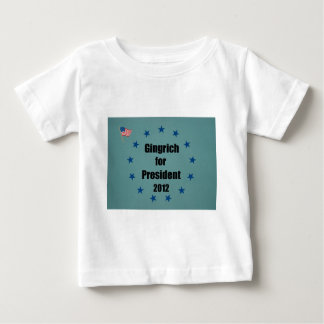 Gingrich for President - 2012 Baby T-Shirt