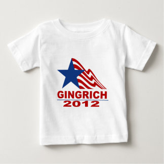 Gingrich for President 2012 Merchandise Baby T-Shirt