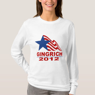 Gingrich for President 2012 Merchandise T-Shirt