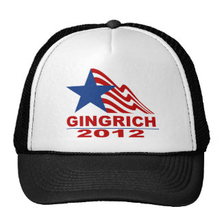 Gingrich for President 2012 Merchandise Trucker Hat
