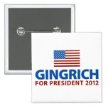 Gingrich for President Buttons