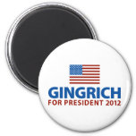 Gingrich for President Magnets