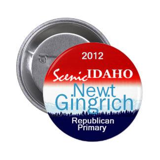 Gingrich IDAHO Button
