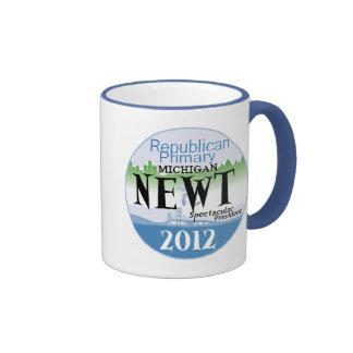 Gingrich Michigan Coffee Mug