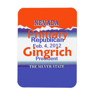 Gingrich NEVADA Rectangle Magnet