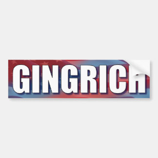 Gingrich - Newt 2012 Bumper Sticker