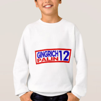 Gingrich Palin en 2012 Sudadera