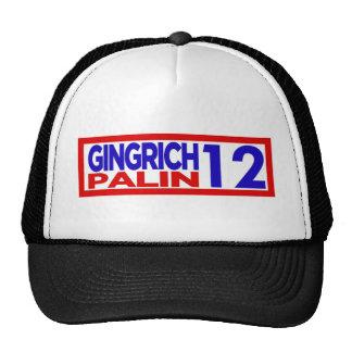 Gingrich Palin in 2012 Trucker Hat