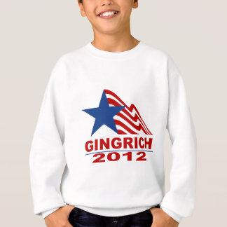 Gingrich para el presidente 2012 mercancía sudadera