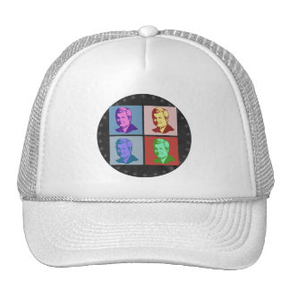 Gingrich Pop Art Mesh Hat