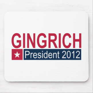 Gingrich President 2012 Mouse Pad