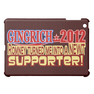 Gingrich President 2012 Turned Into Newt Design Cover For The iPad Mini
