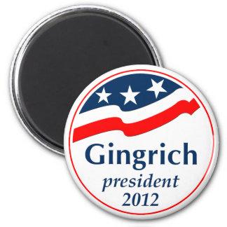 Gingrich President 2012 (v105) Magnets