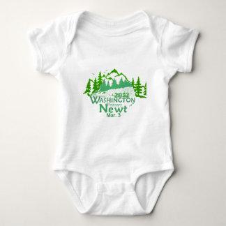 Gingrich Washington Baby Bodysuit