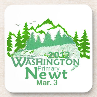 Gingrich WASHINGTON Beverage Coasters